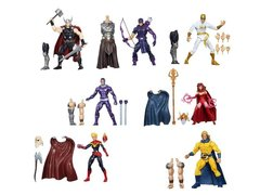 Marvel Avengers Infinite Legends Series 01 - Set of 7 With Odin BAF
