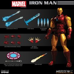 Mezco One:12 Collective Marvel Iron Man (ETA 07/18) PREORDER