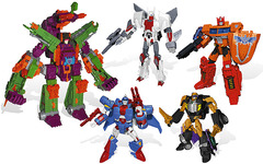 Transformers BOTCON 2014 Boxed Set Knights Vs. Pirates