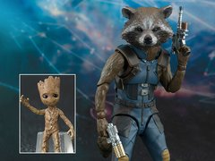 Guardians of the Galaxy Vol. 2 S.H.Figuarts Rocket & Baby Groot Exclusive (In Stock Now)