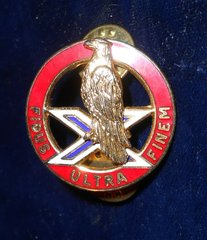 US Army 2nd ADA Insiginia Fidus Ultra Finem unit crest