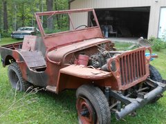 1942 Ford GPW Jeep  SOLD