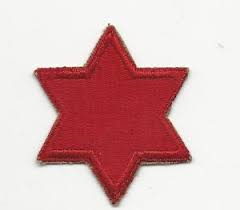 6th Infantry Division Patch