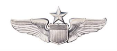 US Air Force Senior Pilot Badge Miniature