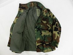 New Woodland Camouflage, BDU M-65 Field Jacket