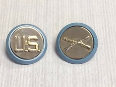 Infantry/US Brass insignias Set