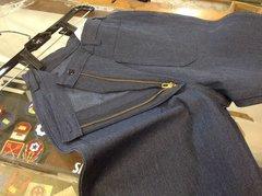 US Navy 1970-80s Era Denim MEN'S jeans Bell bottoms/dungarees, made by Seafarer