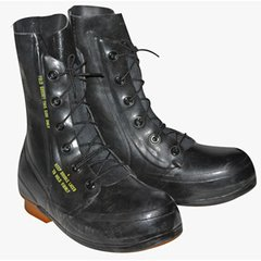 "Black Excw ""mickey mouse"" Boots Surplus Condition without valve"