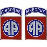 82nd Airborne Division (Old Version) Unit Crest (No Motto)
