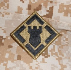 US Army OCP Patches 1st Inf Div through 10 Mountain Division