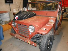 SOLD 1962 M151 Unrestored SOLD