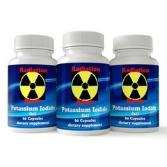 3 Pack Potassium Iodide ki, Premium Supplement, Expires 2021