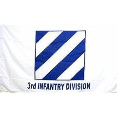 3rd Infantry Division 3'x5' Flag