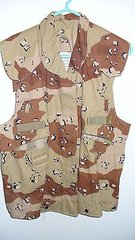 Cover for PASGT Vest Desert 6 Color Chocolate chip pattern