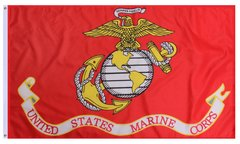 3'x5' USMC (Globe and Anchor) Flag