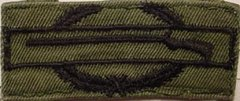 US Army Combat Infantry Badge patch subdued (EIB and CIB)