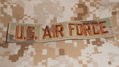 US Airforce USAF tape in OCP with velcro