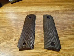 Original GI issue M1911 plastic grips sold as a set - used