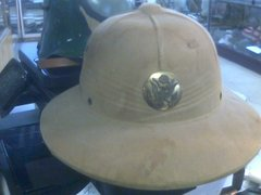 US Army WW2 Pith Helmet dated may 9th 1942