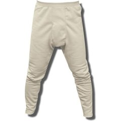 White Traditional Long Johns Surplus Condition