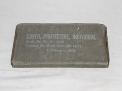 WW2 Individual Protective cover for chemical agents