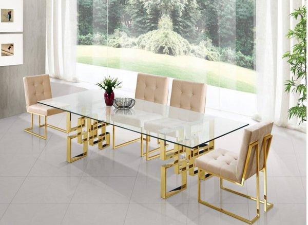 Elizabeth Gold Dining Room Set