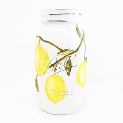 Watercolor Lemon Mason Jar©