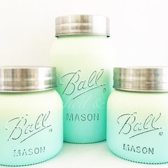 Ball Mason Jar Canister Set