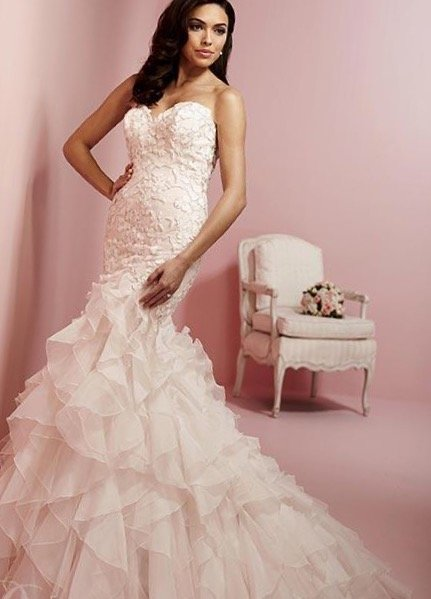 3112 Cupid Couture, Wedding Gown, Color: Rose Pink/Silver   Cupid ...