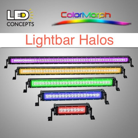Led concepts colormorph lightbar halo briteniteled led concepts colormorph lightbar halo mozeypictures Image collections
