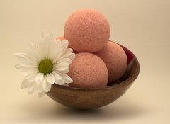 Pink Musk Fizzy Bath Bomb