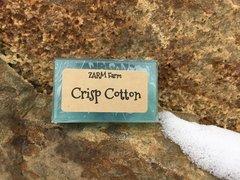 Crisp cotton Guest soap