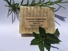 Rosemary Peppermint Soap Bar