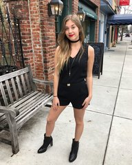 Dex Black Tape Romper
