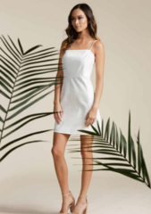 Lucca Addilyn Square Neck Dress