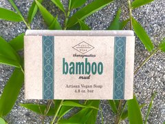 Bamboo Mud Artisan Vegan Soap   4.8 oz bar
