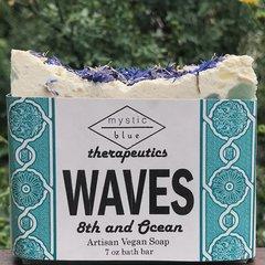 Waves Artisan Vegan Soap   7 oz bar