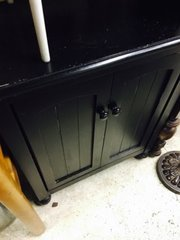 wood cabinet - entry table two door