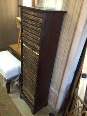 Encyclopedia Britannica 1910 rare 11th edition w/ original vertical bookcase