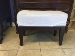 great condition Terry upholstered boudoir bench