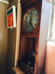 large antique clock
