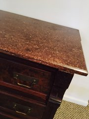 marble top high end dresser