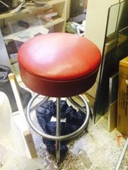 1950s VINTAGE not repro bar stool, two available