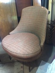 vintage mid-century occasional chair