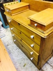 beautiful antique pine dresser