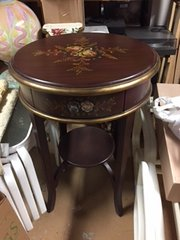 tall sweet painted occassional/entry table