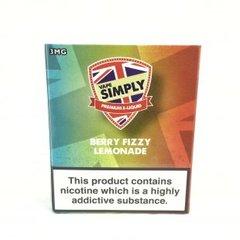 Simply Berry Fizzy Lemonade 3 x 10Ml