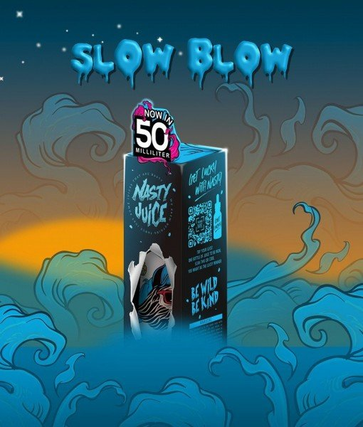 Slow Blow Nasty Juice 50ml 70/30 E-Liquid