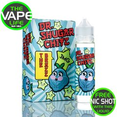 Dr Shugar Chitz The Brazz 50ml + 10ml Free Nic Shot