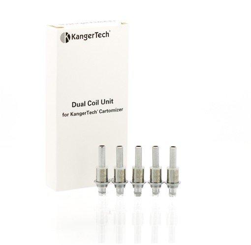 Kangertech Dual Coil Unit 5 Pack 1.5 Ohms
